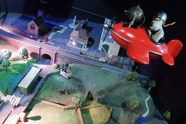 The Wallace & Gromit dark ride at Blackpool Pleasure Beach, created by Paragon Creative