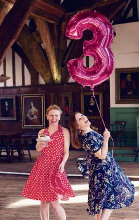 Samantha Agnew and Alexandra Claydon celebrate three years of Now &