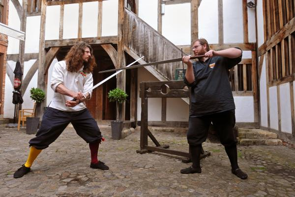 Using medieval combat as a modern sport