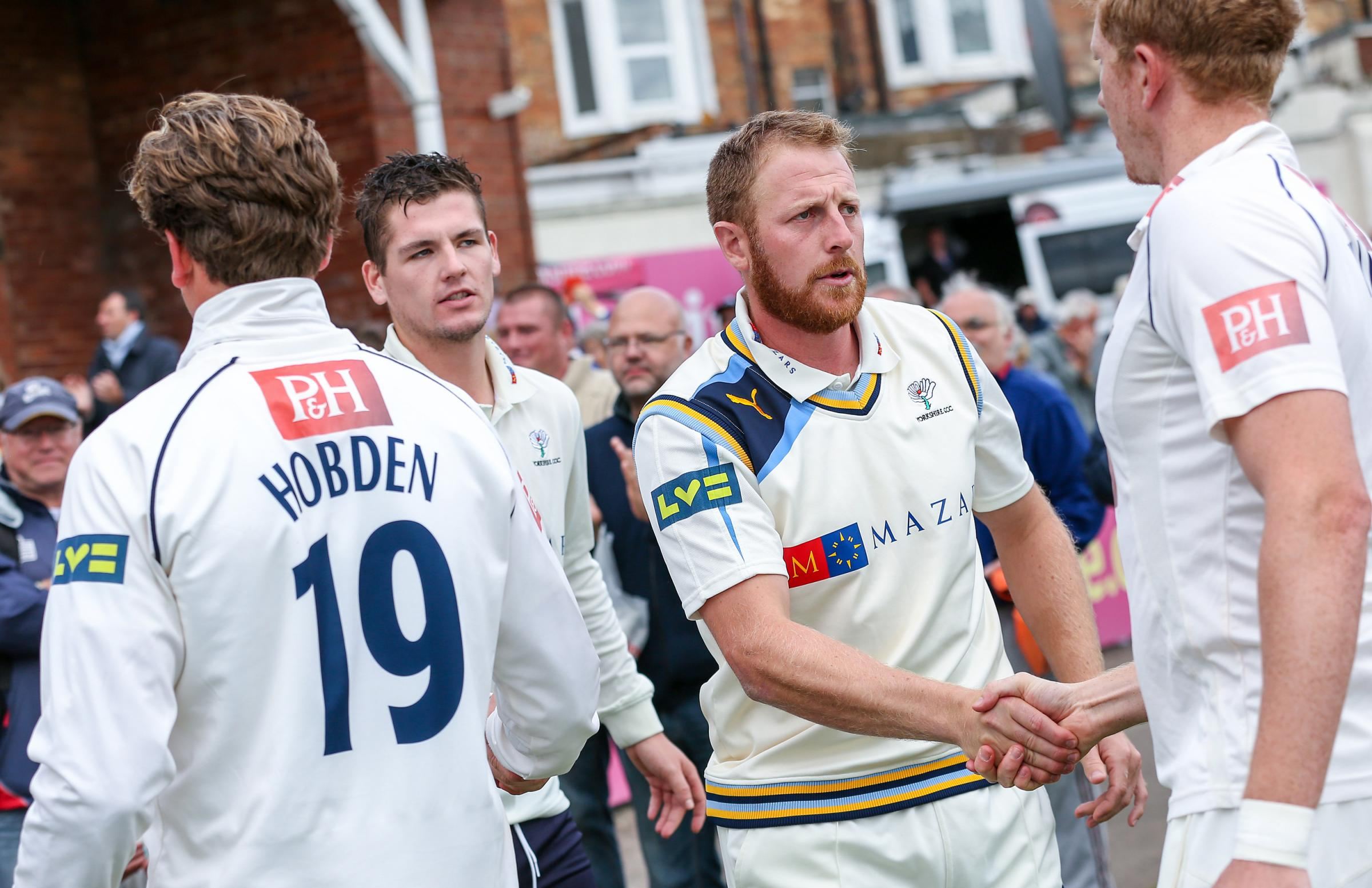 Yorkshire's Andrew Gale is convinced the club can record a trophy double in the County Championship and Royal London One-day Cup. Picture: Alex Whitehead/SWpix.com