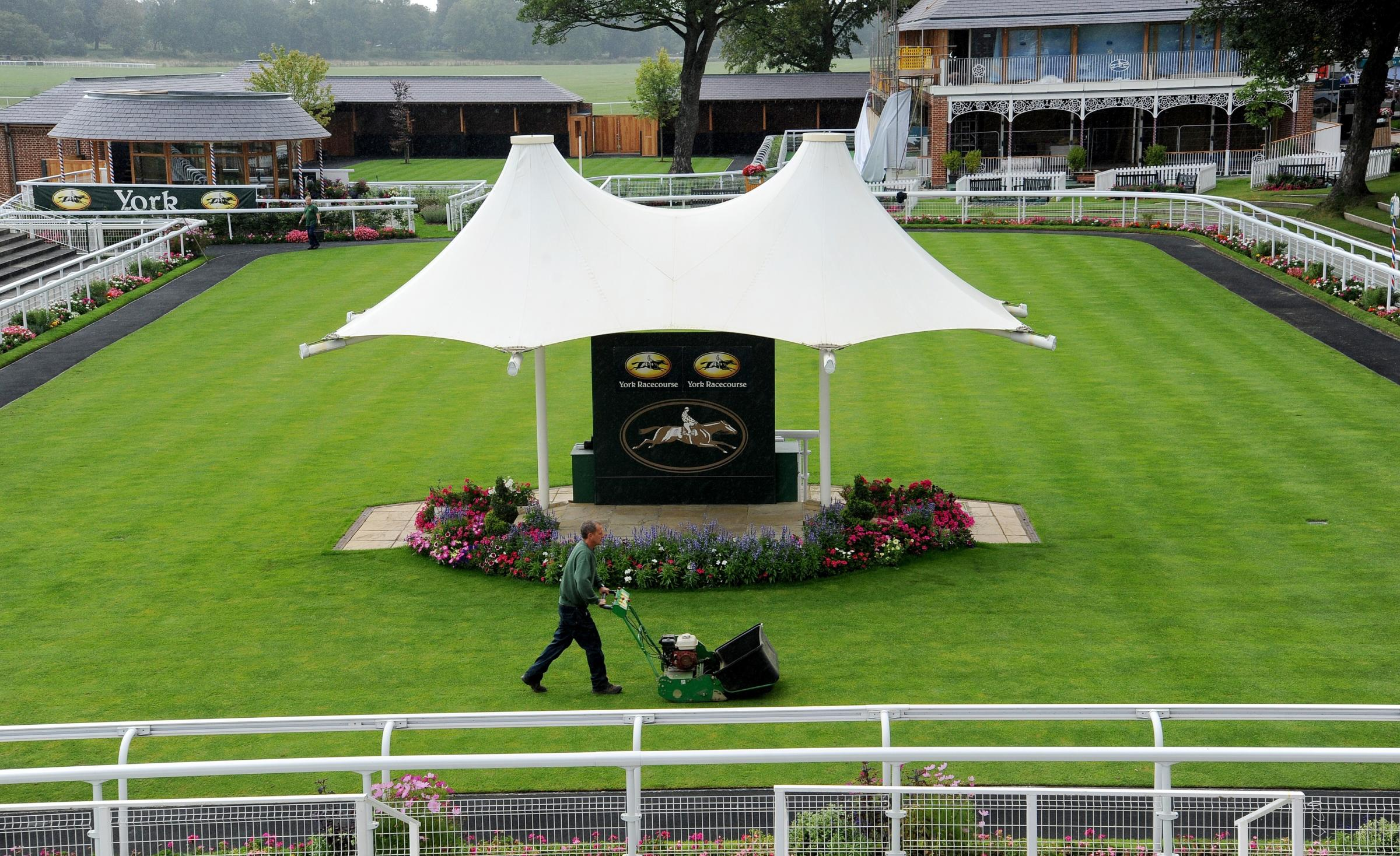 The Ebor Festival at York Racecourse