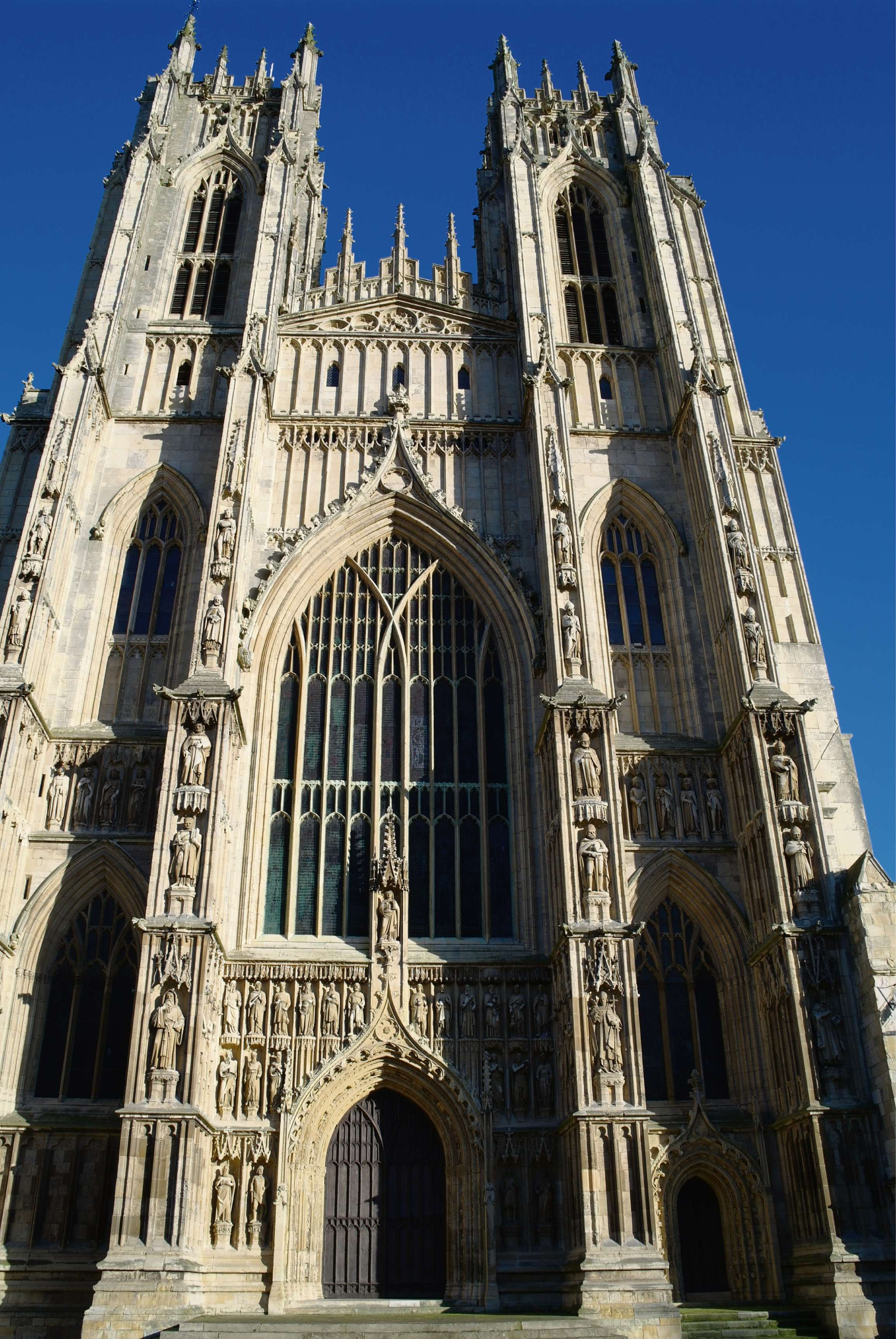 Beverley Minster - a parish church, not a cathedral...