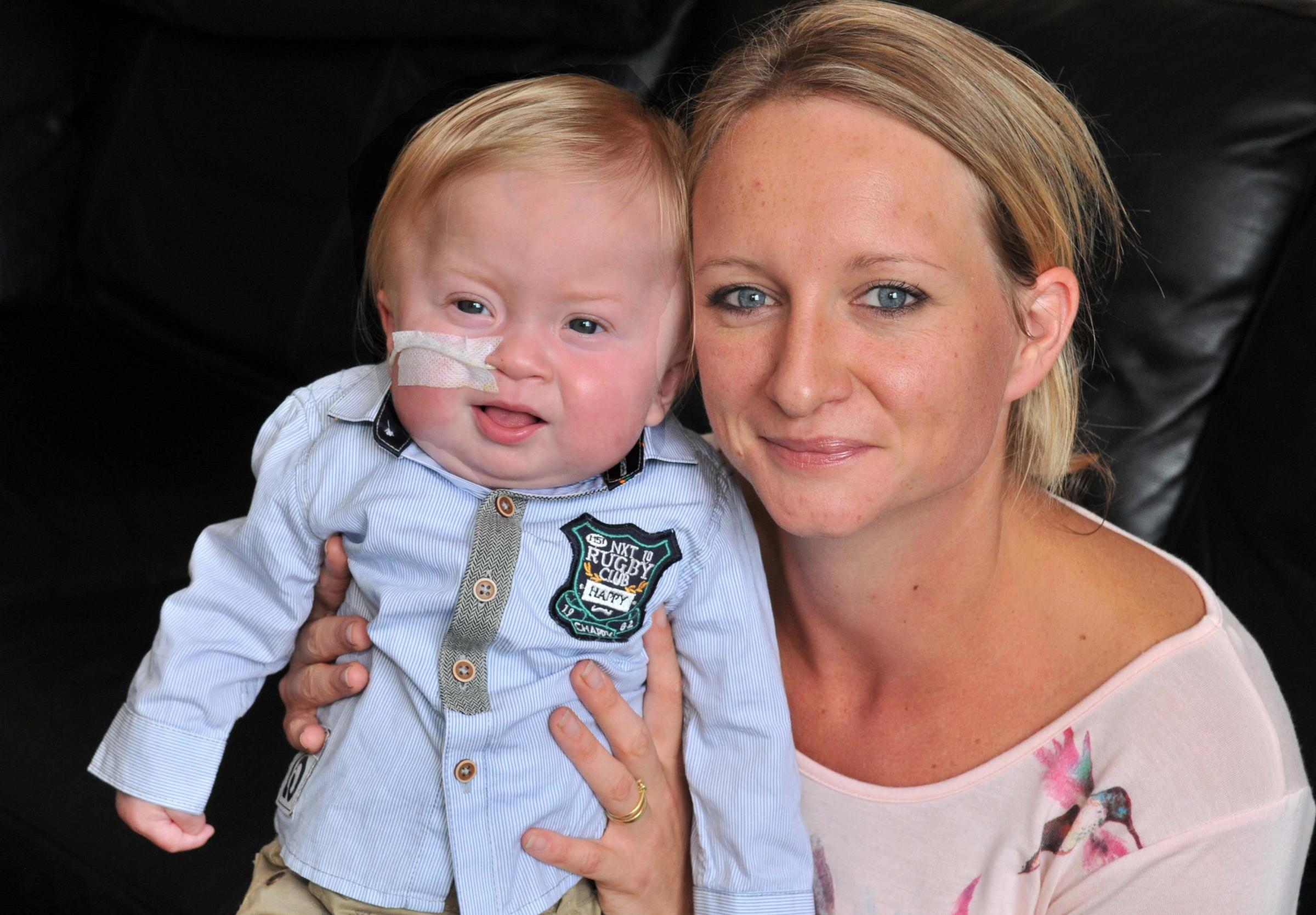 Mother's heartbreak after finding her baby has rare incurable condition