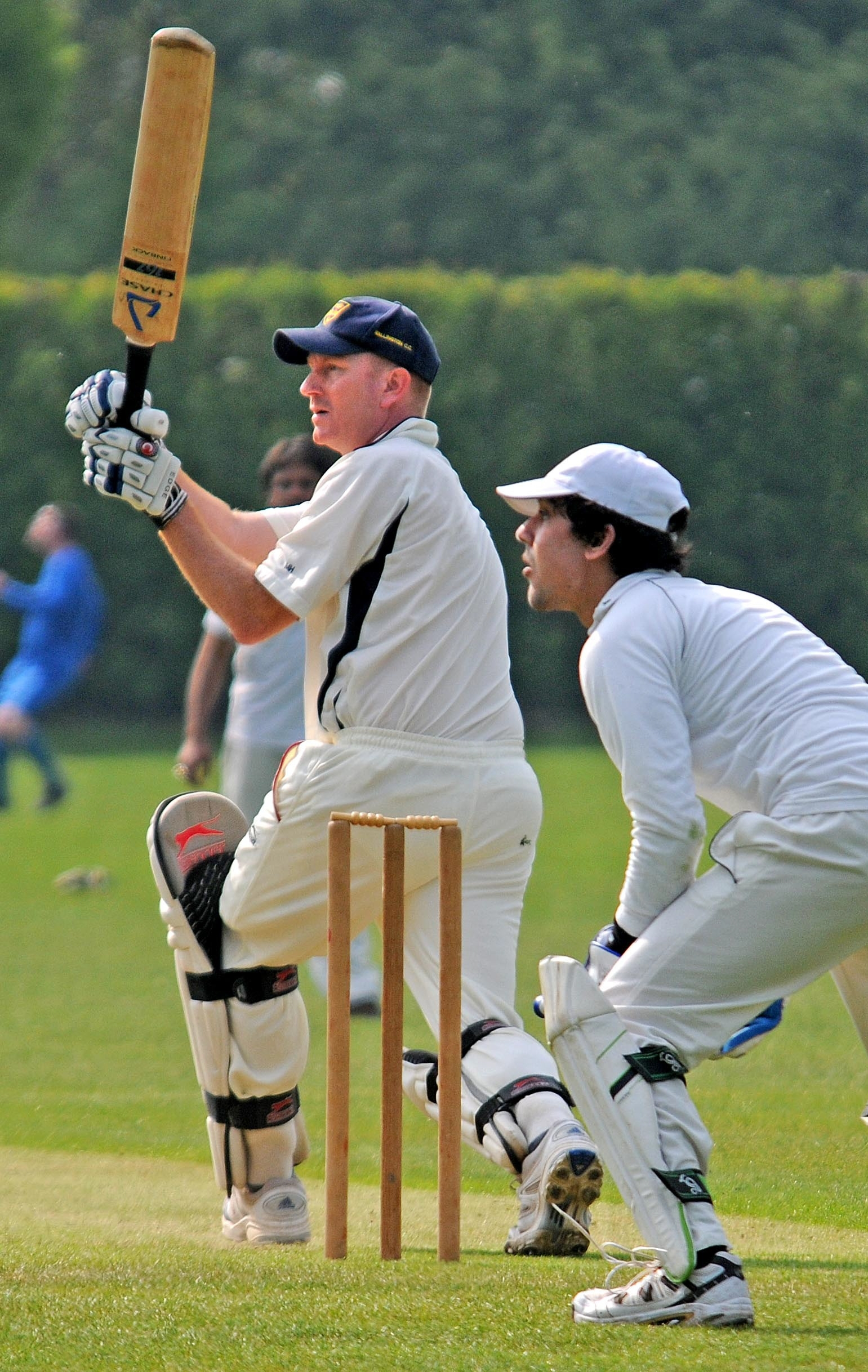 Ovington's victory at  Burn turns up heat on Vale League title rivals