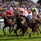 York Press: Sole Power, ridden by Richard Hughes, wins the Coolmore Nunthorpe Stakes on day three of the Welcome To Yorkshire Ebor Festival at York RacecoursePicture: Anna Gowthorpe/PA Wire