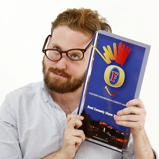 John Kearns was the winner of the Foster's Best Comedy Show award at the Edinburgh Fringe