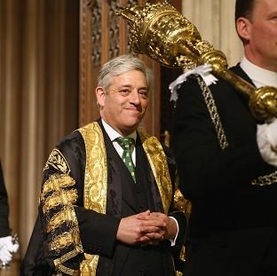 John Bercow is under pressure over his decision to open up recruitment for the job