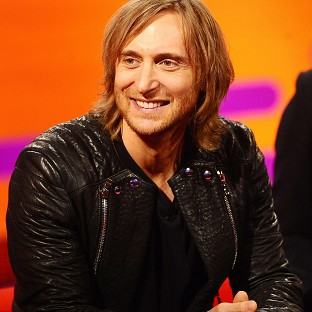 David Guetta is at number one with Lovers On The Sun
