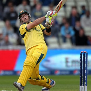 Glenn Maxwell hit a boundary-laden 93