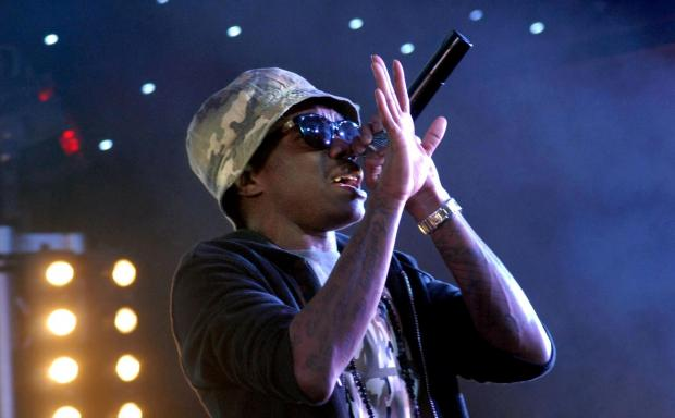 Tinchy Stryder at The Riverside concert venue. Picture: Dave Farrow