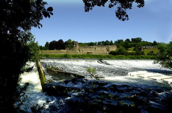 The River Derwent at Kirkham Abbey