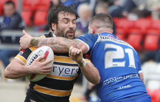 York City Knights centre James Ford, who has confirmed he is to retire as a player at the end of the season
