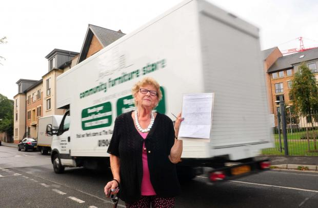 Walmgate area resident, Barbara Pettitt is calling for a change in the speed limit in the Navigation Road area.