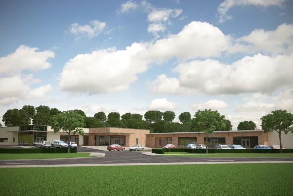 HEALTH: An artist's impressed of the planned health centre at the University of York's Heslington East campus