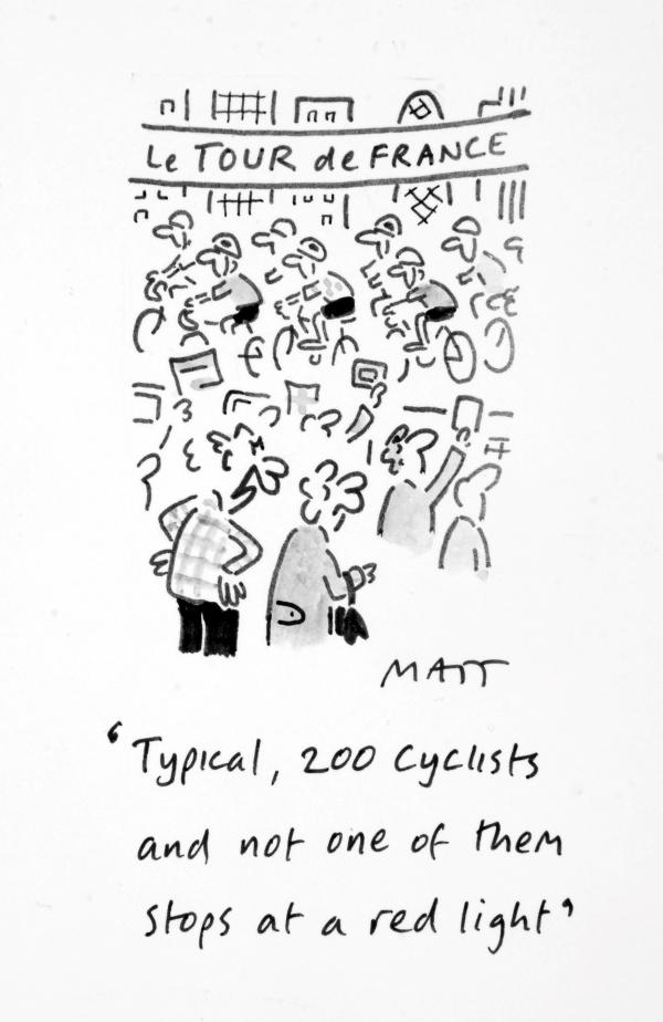 Matt cartoon exhibition hopes to draw in the crowds