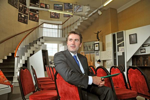 James Foster, general manager of the Bar Convent, York, which is to undergo a big revamp
