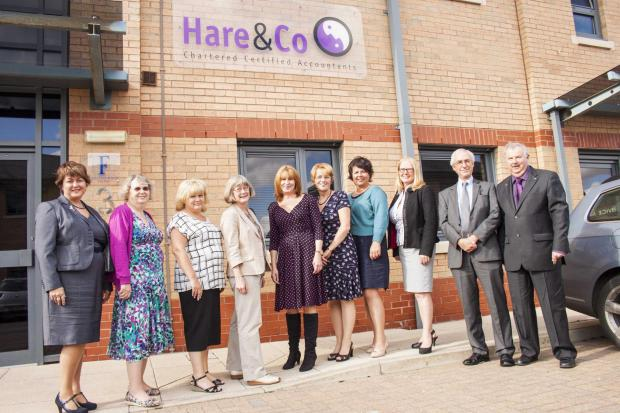 The team at the newly merged Hare & Co (Incorporating David J. Flower & Co)