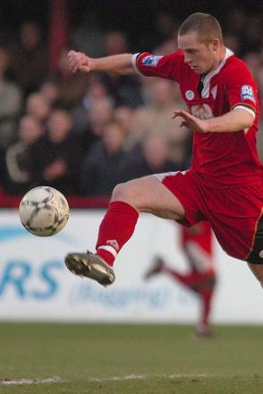 Former City striker to take a back seat at Stevenage