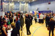 JOB HUNT: Visitors at last year's Job Fair in Selby