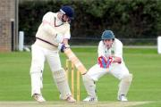 Sheriff Hutton Bridge opener Paul Oldfield, who perished four runs short of a ton