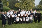 Some of those who received awards for bravery at the ceremony held by North Yorkshire Police