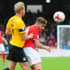 York Press: York City V Southend United. Jake Hyde in action. pic: Anthony Chappel-Ross (10580578)