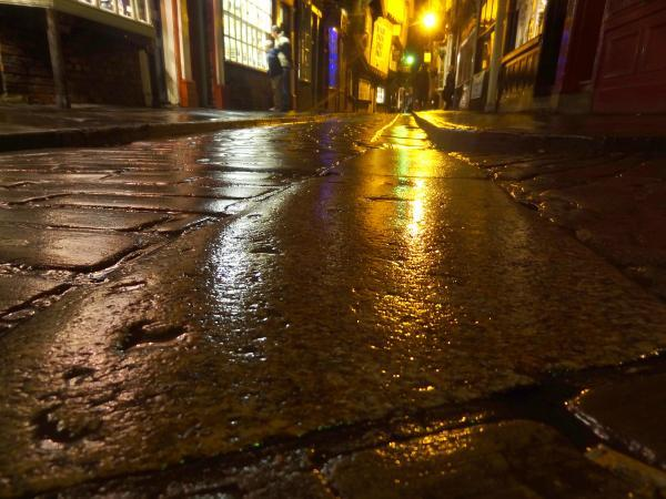 Cobbles in Shambles,York.