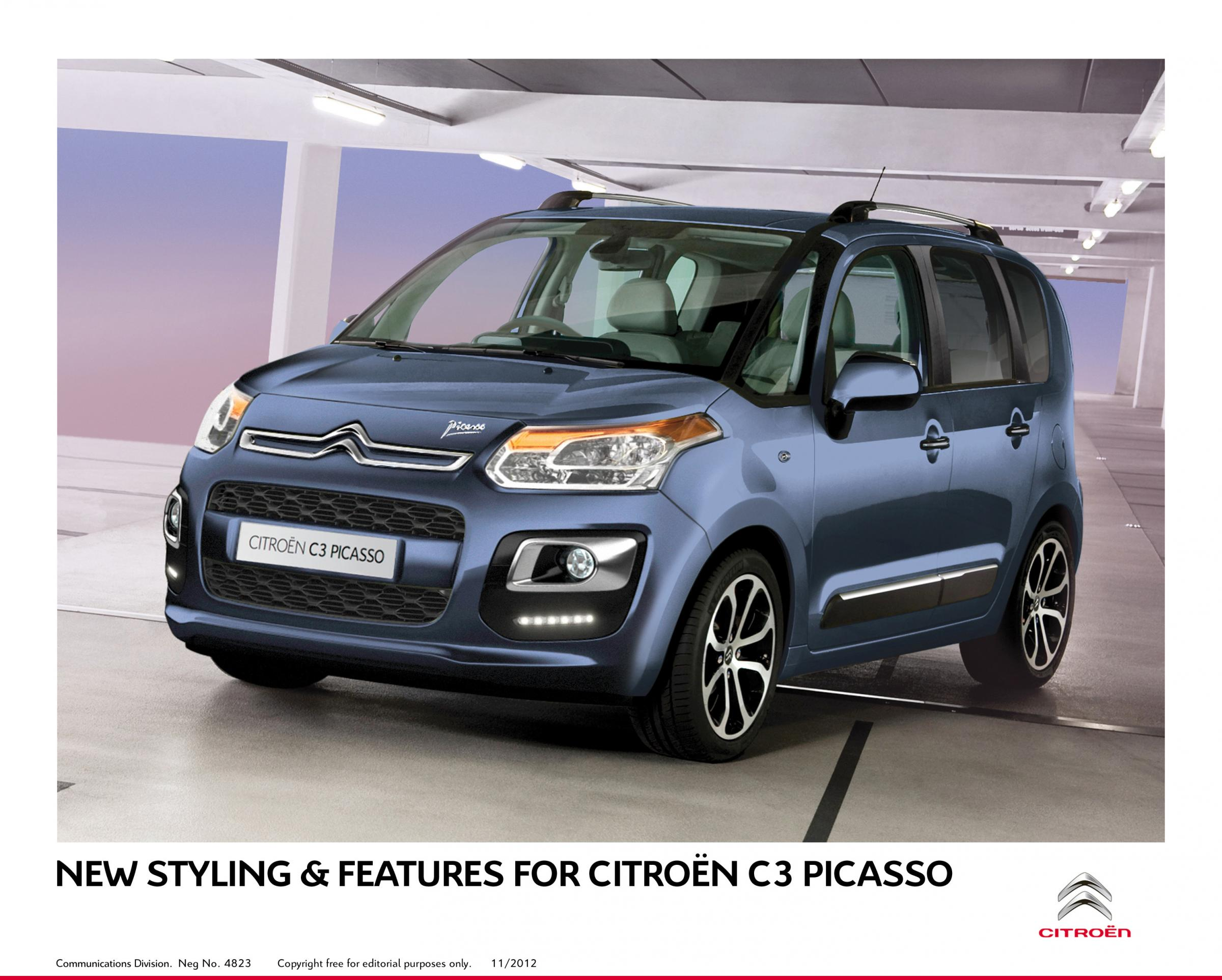citroen c3 picasso exclusive hdi 115 from york press. Black Bedroom Furniture Sets. Home Design Ideas