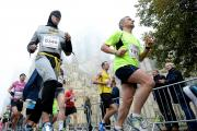 Yorkshire Marathon starts on time despite fog