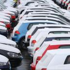 York Press: File photo dated 28/02/14 of new cars at a compound in Sheerness, Kent, as the first nine months of 2014 have been the best for car manufacturing for six years despite a slight dip in production last month. PRESS ASSOCIATION Photo. Issue date: Thursday Oc
