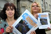 Susan Wood and Rebecca Jeffrey from Advice York, with their report