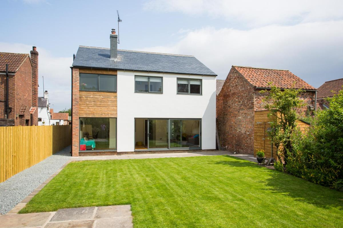 Eighties home remodelled into contemporary 21st century house