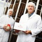 York Press: Kings Biltong director Charlie Simpson-Daniel, left, with New World Foods Europe managing director Roland Froebel, right.