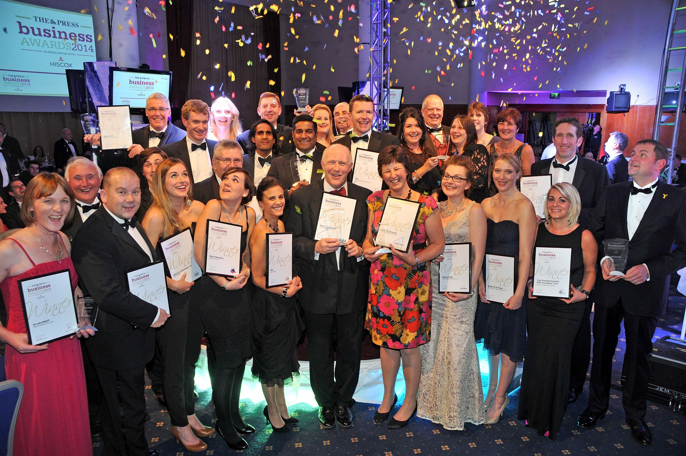 Last year's Business Award Winners