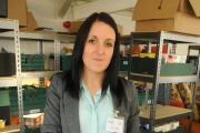 Laura Hagues, project manager for York Foodbank