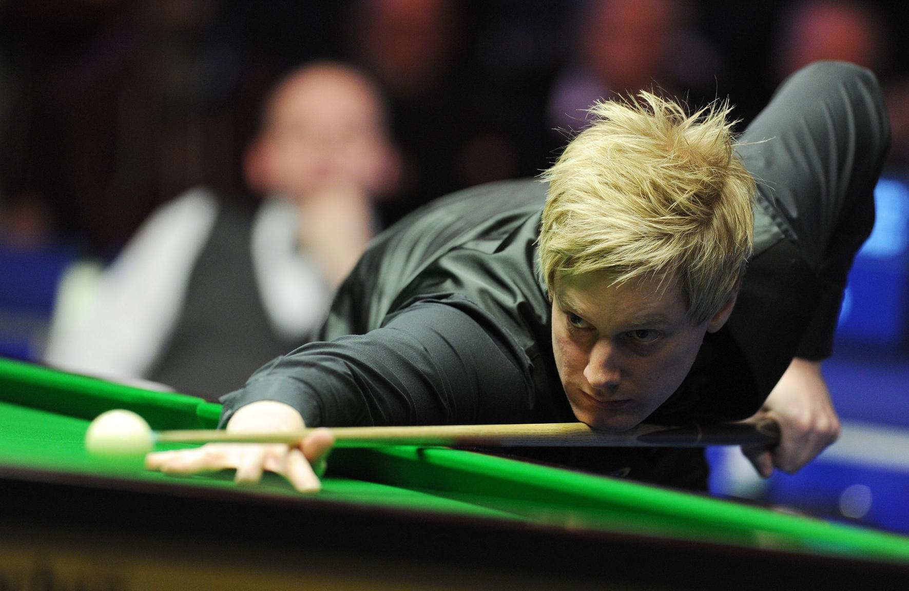 World number one and defending UK champion Neil Robertson has changed his eating habits to extend his time at the table