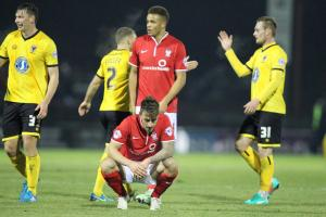 York City 2, AFC Wimbledon 3