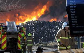 York Press: Tyre fire at Gascoigne Wood recycling plant