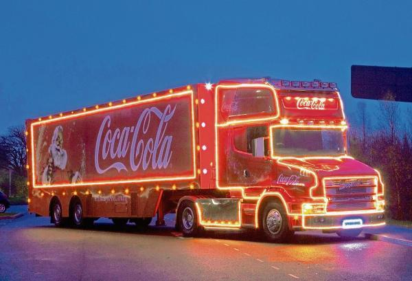 scarborough date announced for coca cola christmas truck - Coca Cola Christmas Commercial