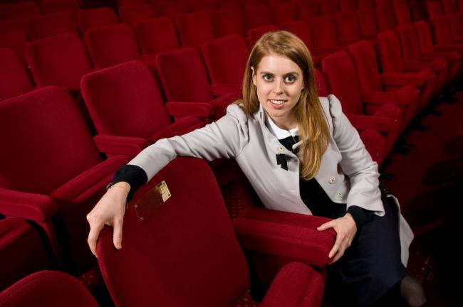 Princess Beatrice and her seat