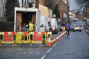 Why is Nunnery Lane  closed for so long?