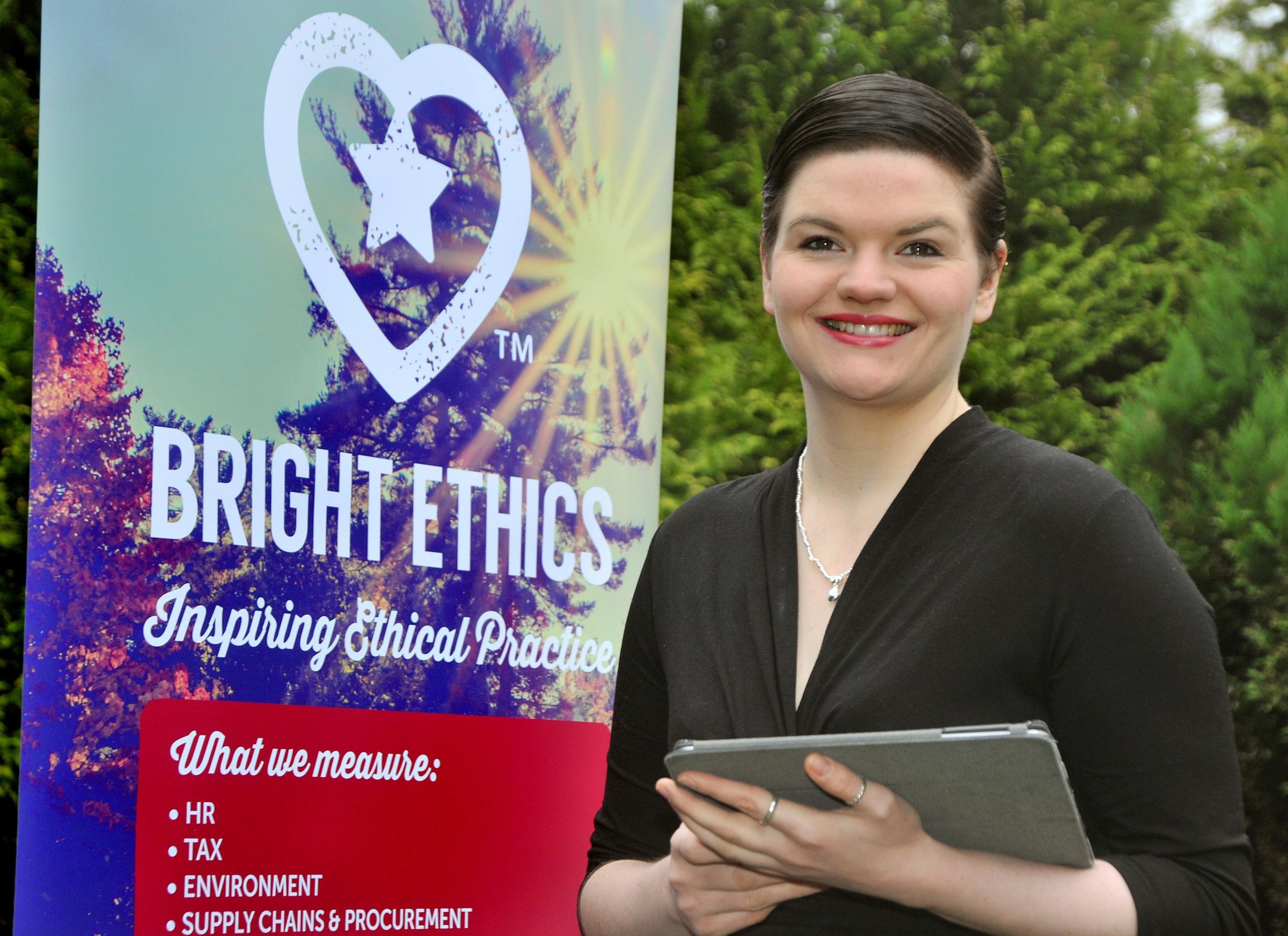 Bethan Vincent of Bright Ethics. Picture David Harrison. (35181807)