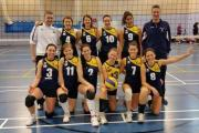 CHEERS: York Volleyball Club women's team