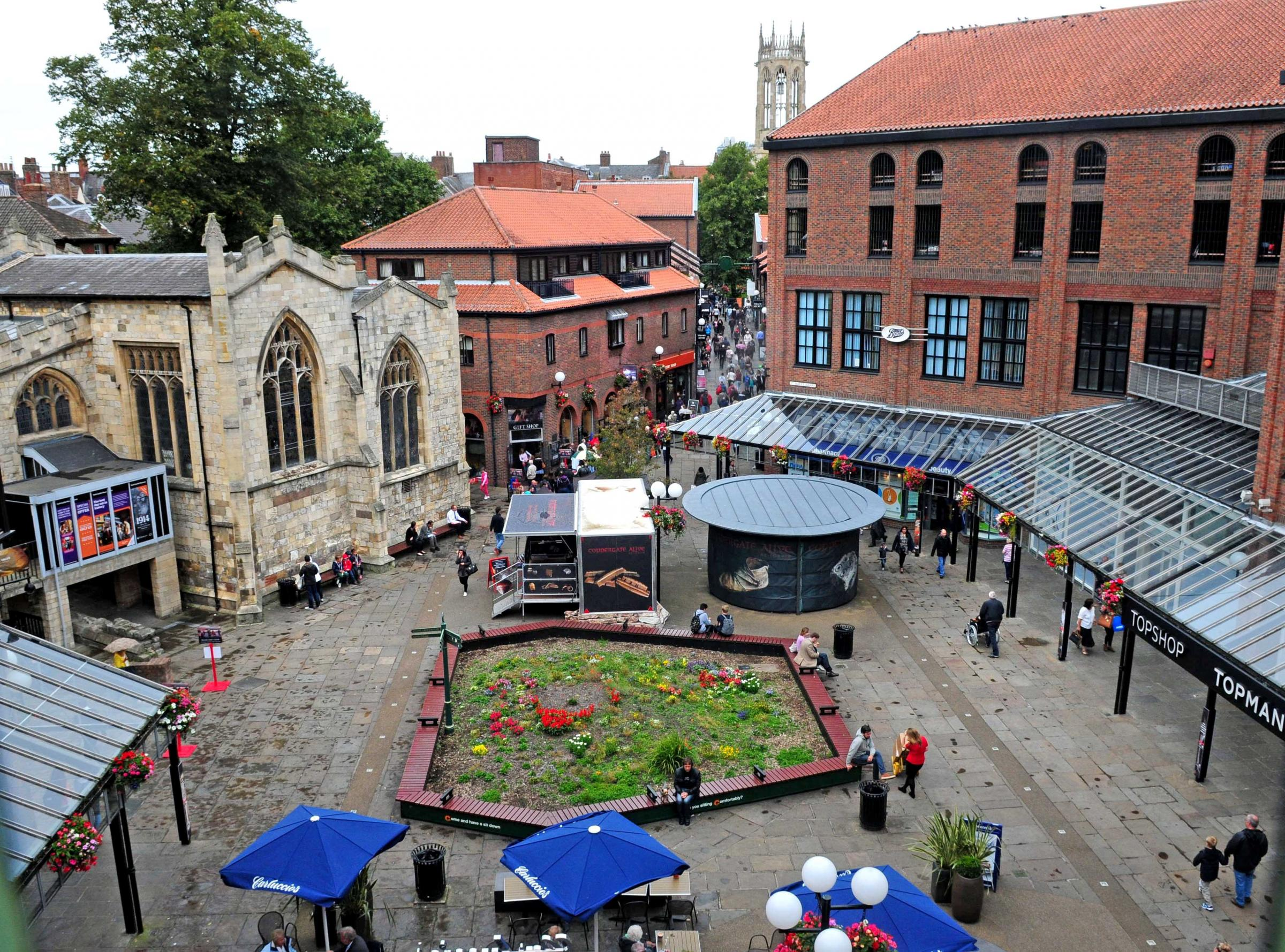 The Coppergate Shopping Centre in York