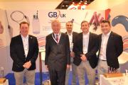 The GBUK team with Earl Howe, second left