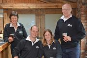 Wold Top Brewery directors, from Left, Gill Mellor, Alex Balchin, Kate Balchin and Tom Mellor