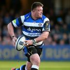 York Press: Bath prop David Wilson, pictured, is England's latest injury concern ahead of next weekend's Six Nations opener in Wales