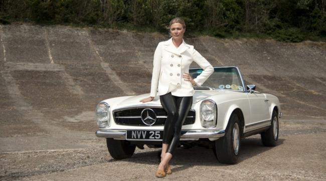 Jodie Kidd Excited About Classic Car Show York Press - Classic car show york