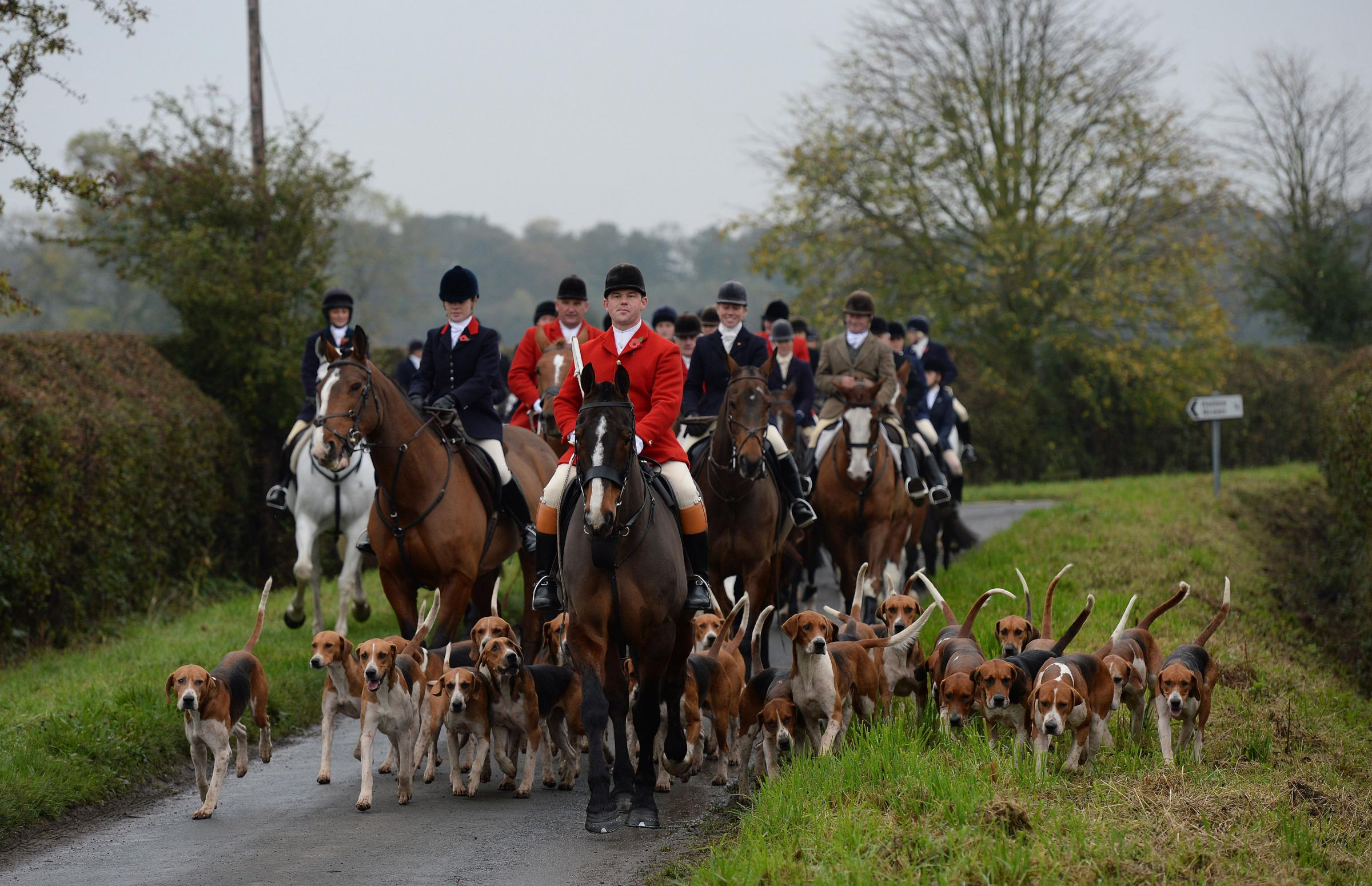 File picture of a hunt      Picture: John Giles/PA Wire