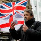 York Press: Liberty GB leader Paul Weston speaks during the first Pegida Rally
